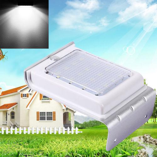 16 LED Solar Outdoor Light Control Infrared Motion Sensor Wall Lamp for Garden