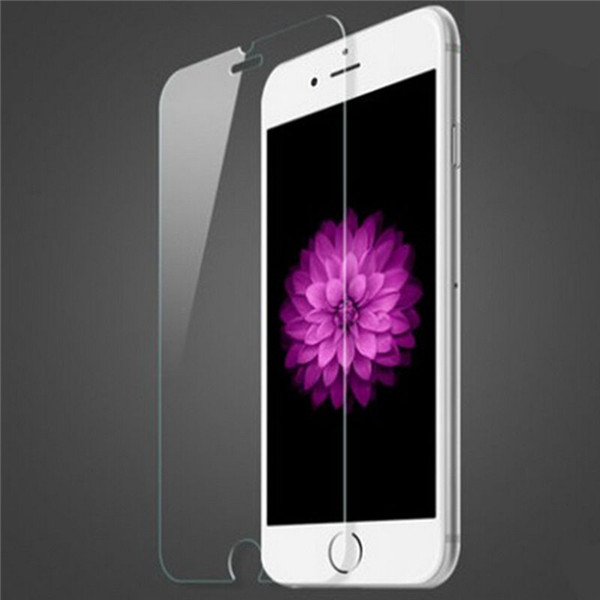 In stock 9h 0.33mm Anti fingerprint tempered glass screen protector for iphone 6 / 6S / 6S plus /