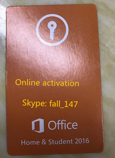 Office 2016 HB HS Pkc with New Retail Fpp Keys 100% Online Active coa Key