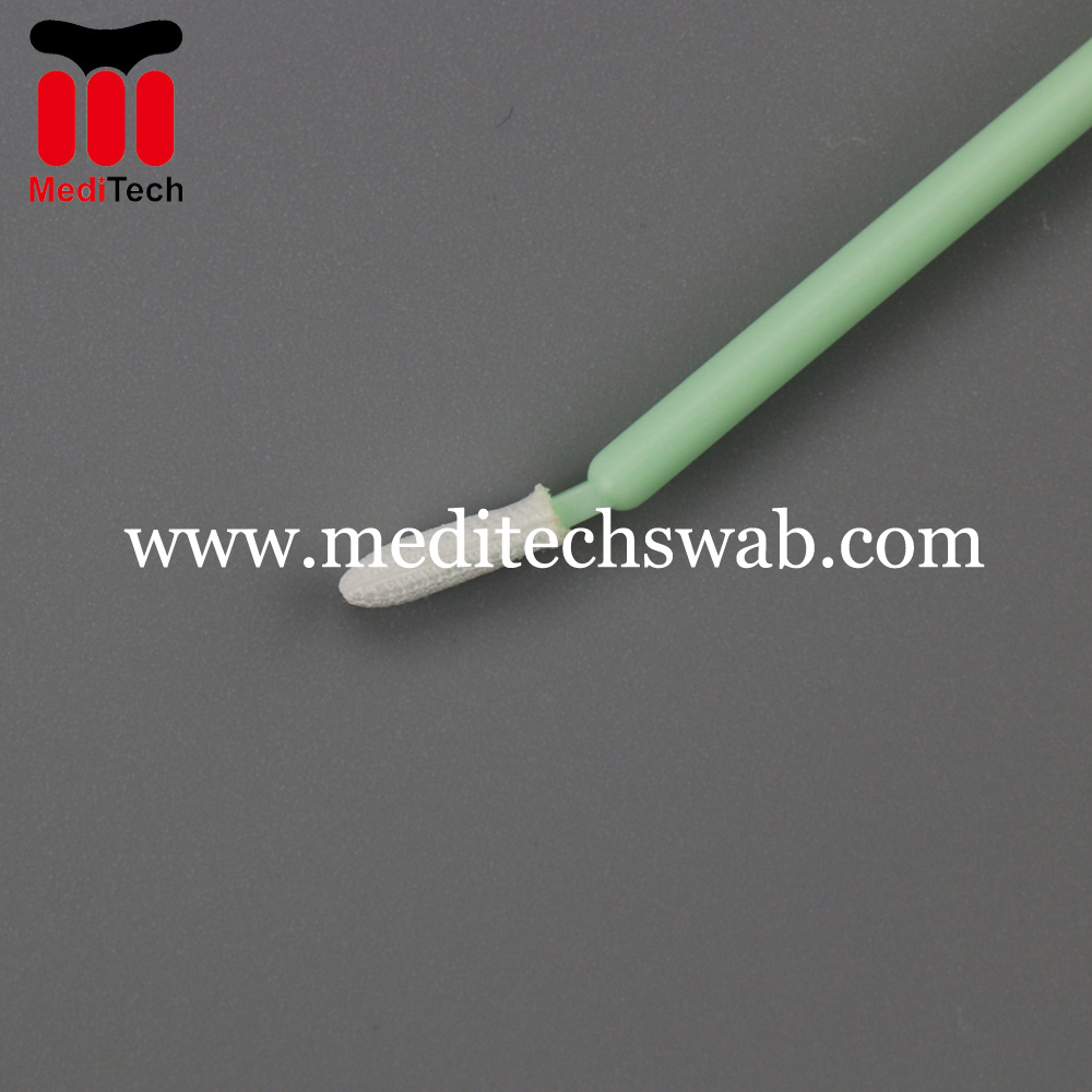 Polyester cleaning swab
