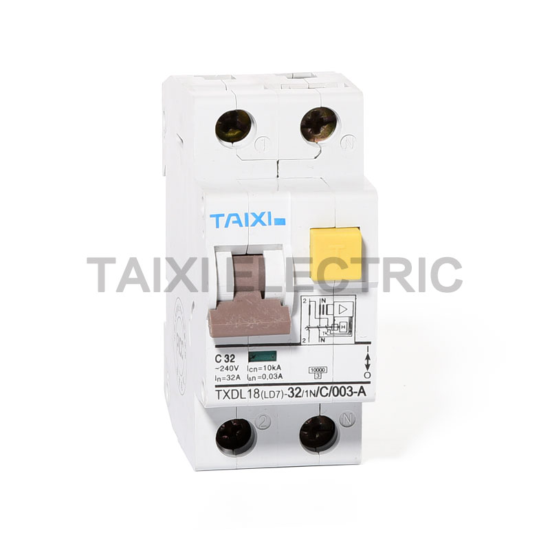 TXDL18-63 Residual Current Circuit Breaker