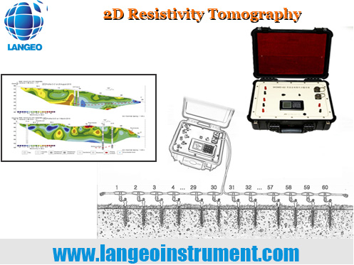 LANGEO WGMD-60 2D Resistivity Tomography System
