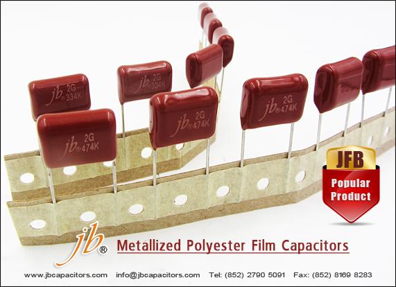 JFB -- Metallized Polyester Film Capacitor
