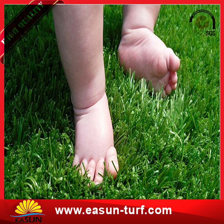 Manufacturer supply artificial landscape grass mini soccer grass turf-Donut