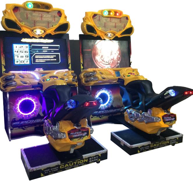 42 Inches Super Bike Amusement Dedicated Game Machine Coin Operated Machine