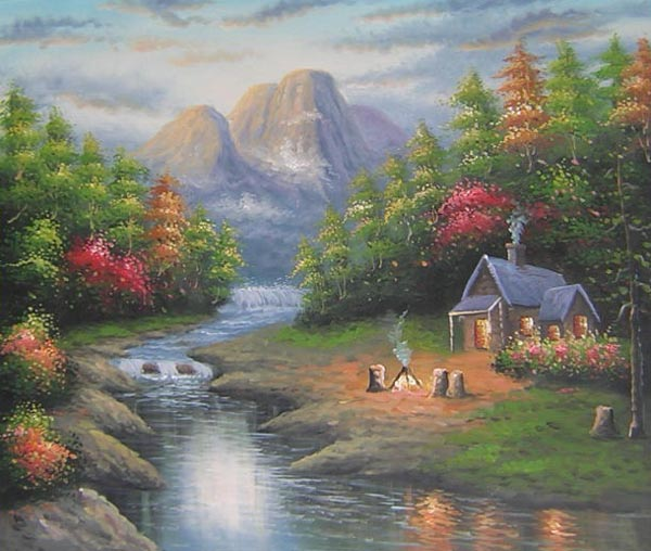 oil paintings on canvas for wholesale