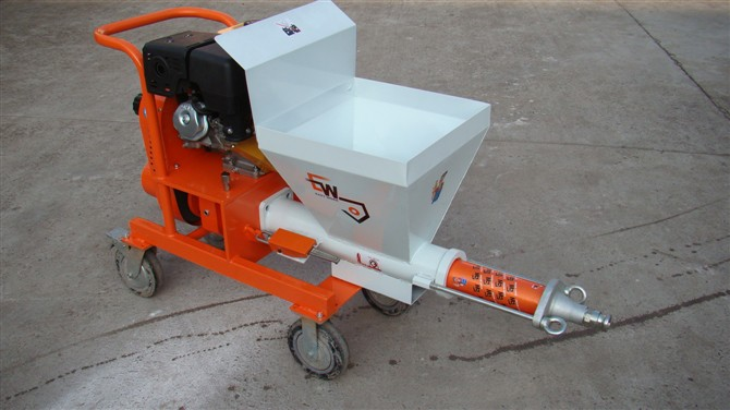 HS2 mortar plastering machine
