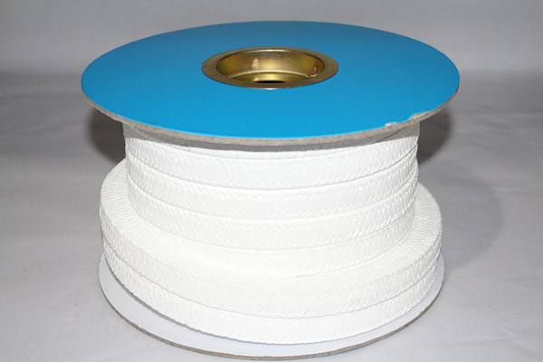 PTFE gland packing with oil/PTFE square packing/ PTFE round rope
