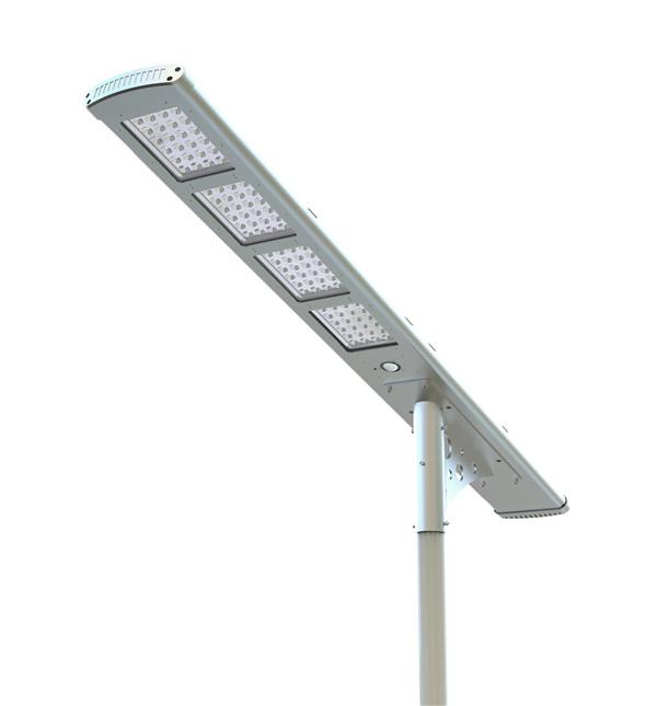 80w pir sensor integrated solar led street light motion sensor all in one solar garden light
