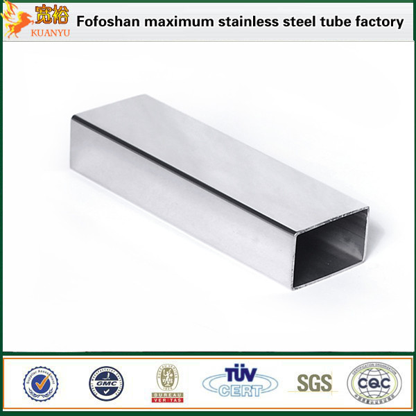 stainless steel rectangular pipe for decoration