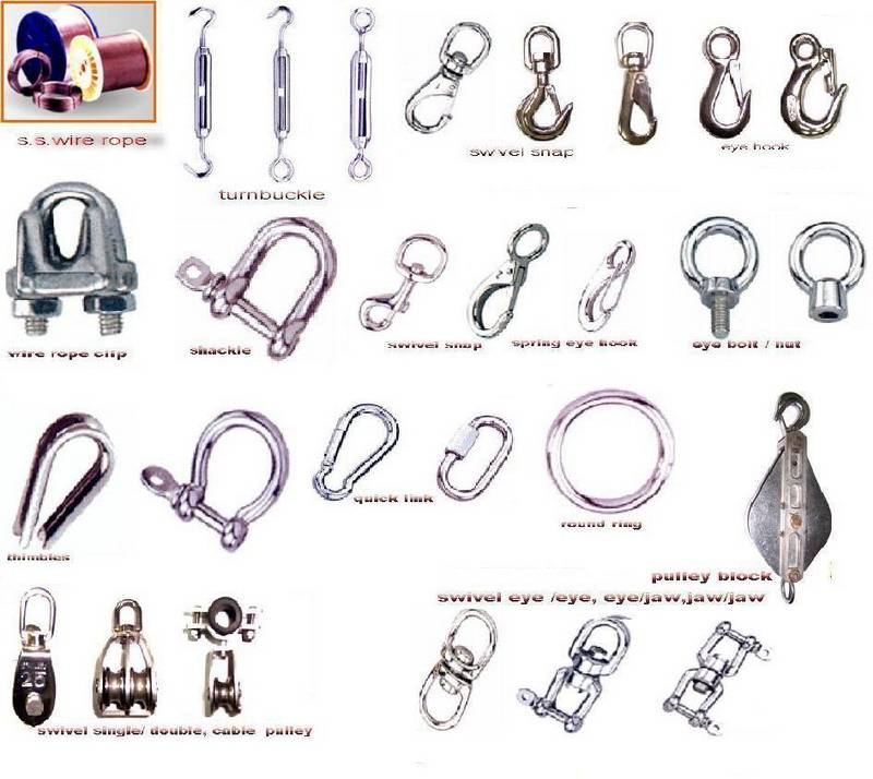 Stainless steel series( wire rope,turnbuckle,shackle,swivel) - Re Tu ...