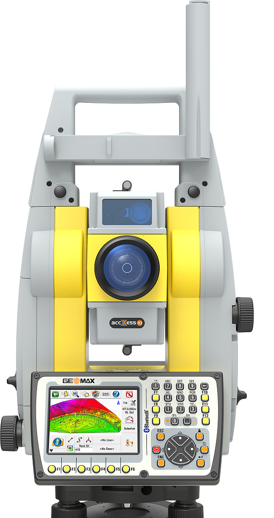 """GeoMax Zoom90R 5"""" Robotic Total Station Package"""