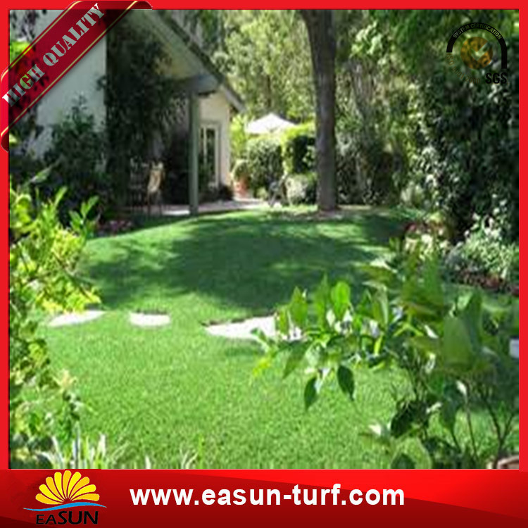 Landscaping Artifical grass Lawn Artificial fake turf For Garden-Donut