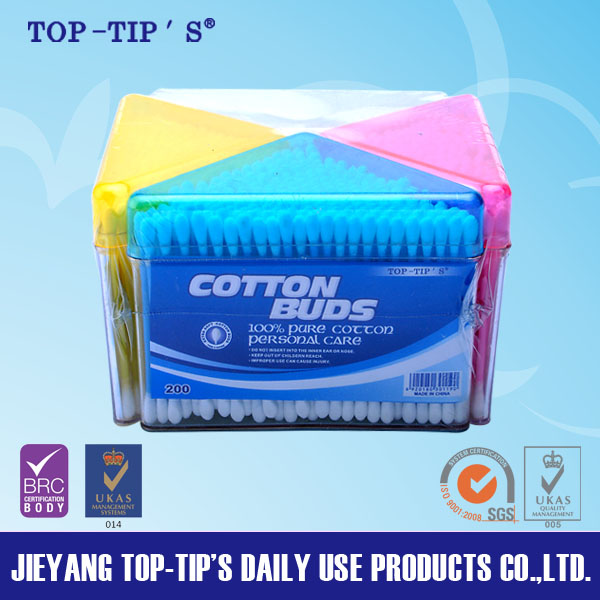 ear cleaning cotton swabs PS box