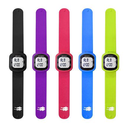 silicone wristband calories pedometer