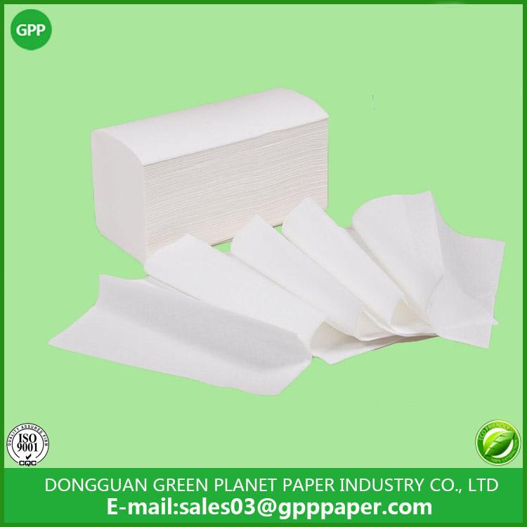 V fold Folded hand towels