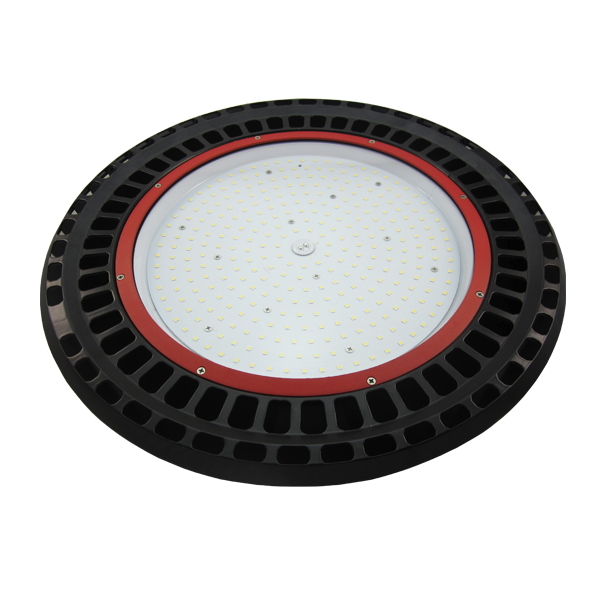 New 200w waterproof lumen manufacturer round ufo led high bay light for warehouse