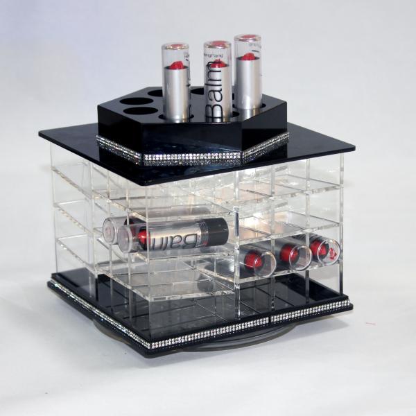 Wholesale Plastic Acrylic Storage Organizer Lipstick Holders For Cosmetic