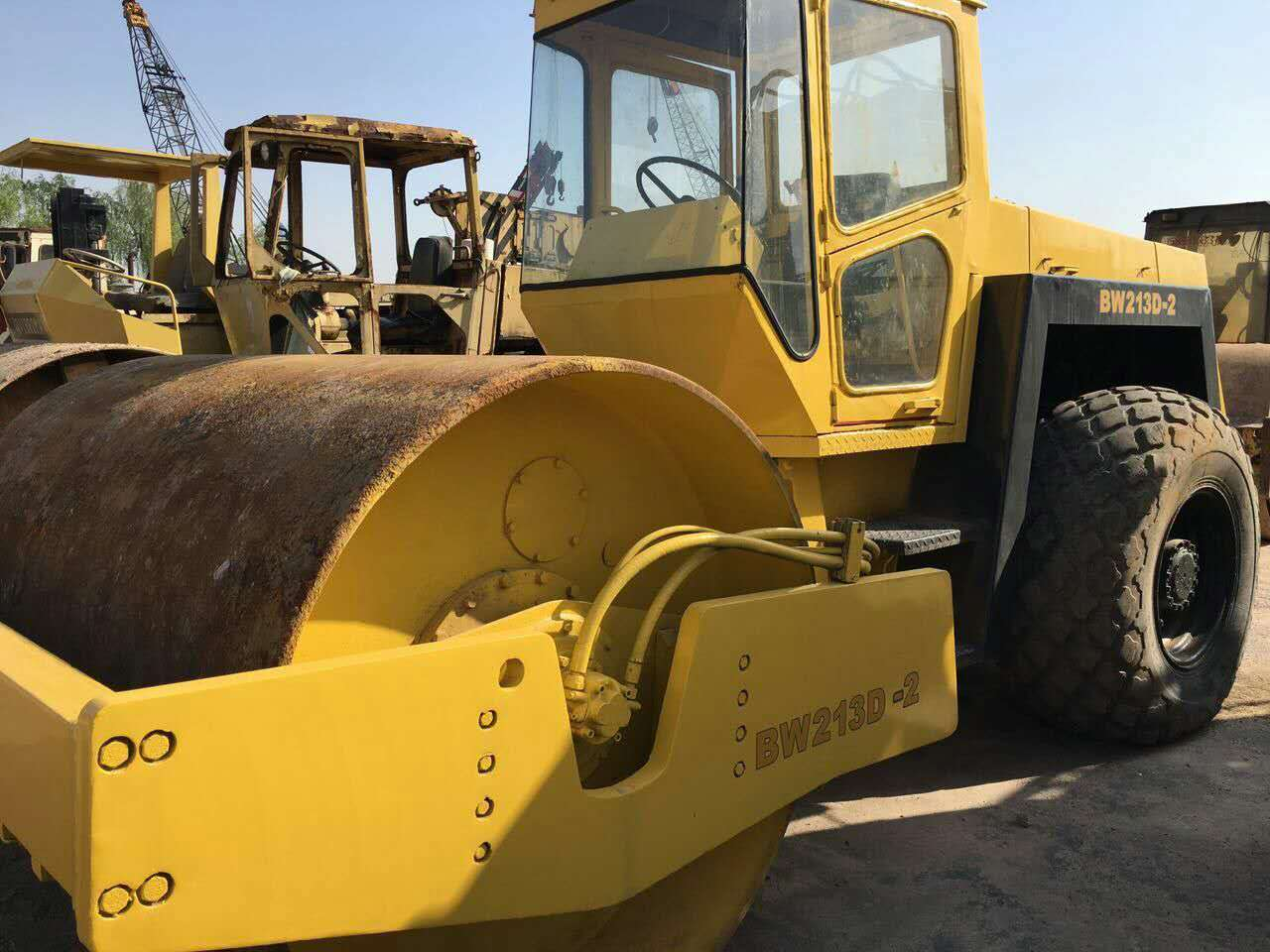 Bomag BW213D road roller for sale, also Dynapac CA25 CA30 CA35 roller for sale