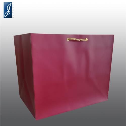 Currency big wine gift bag