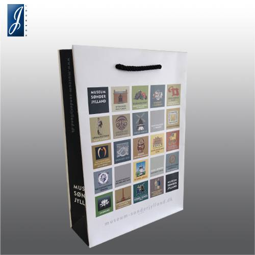 Customized small packaging bag for MUSEUM