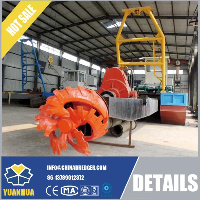 Sand Suction Dredger For River Sand Mining