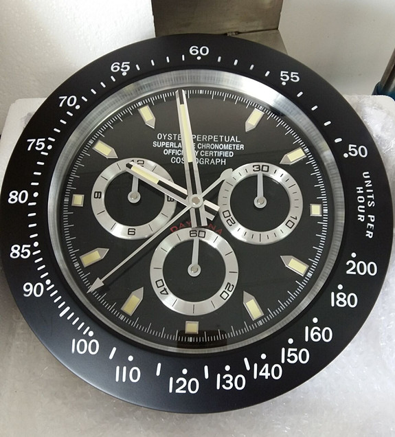 14inch high quality stainless steel wall clock brand watch clock