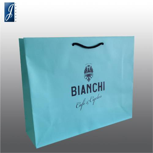 Customized big  promotional bag for BIANCHI