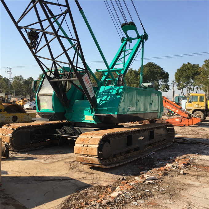 Japan original used crawler crane Kobelco 50 55 ton 100 150 ton 250 ton crawler crane for sale