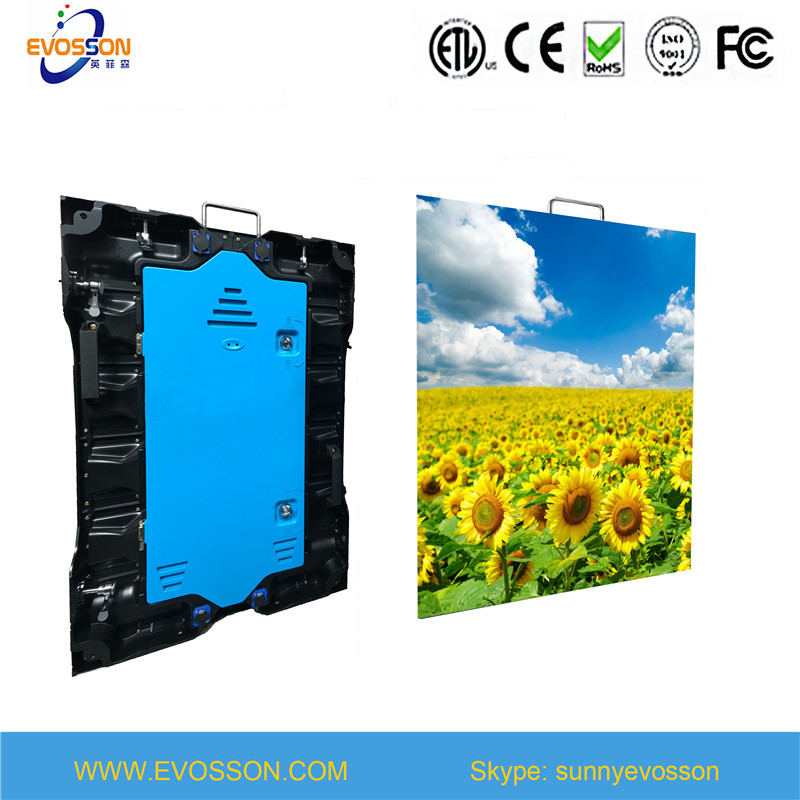 Advertising LED Display P3, P6 Rental Cabinet Video Wall