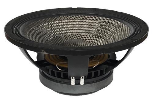 15 Inch Carbon fiber Cone Professional Audio Subwoofer Speaker 700W