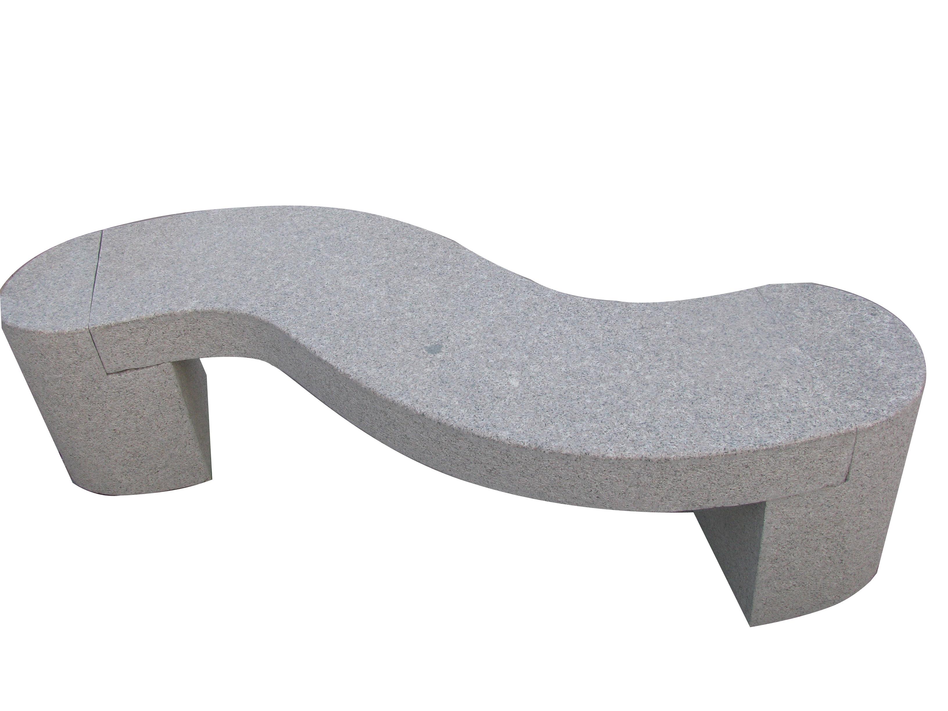 Stone Bench Sculpture