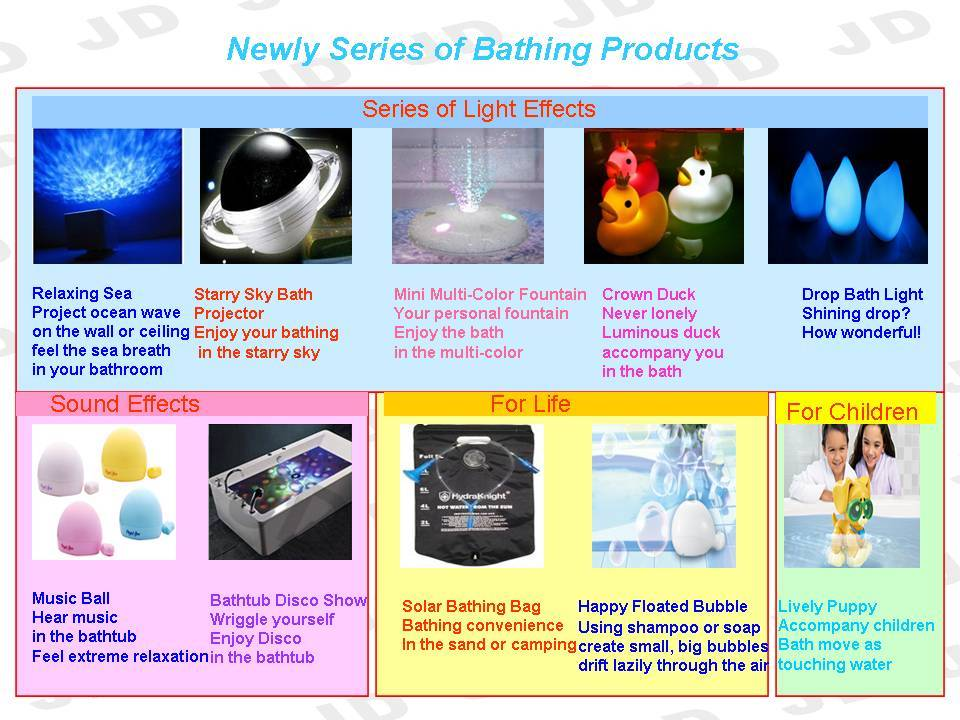 Newly series of Bathing Products