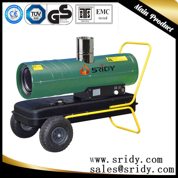 sridy industrial heater exchange equipments 60kw large factory heating machine greenhouse heaters