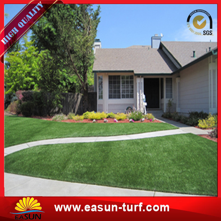 Natural red color tennis court artificial grass synthetic turf roll-Donut