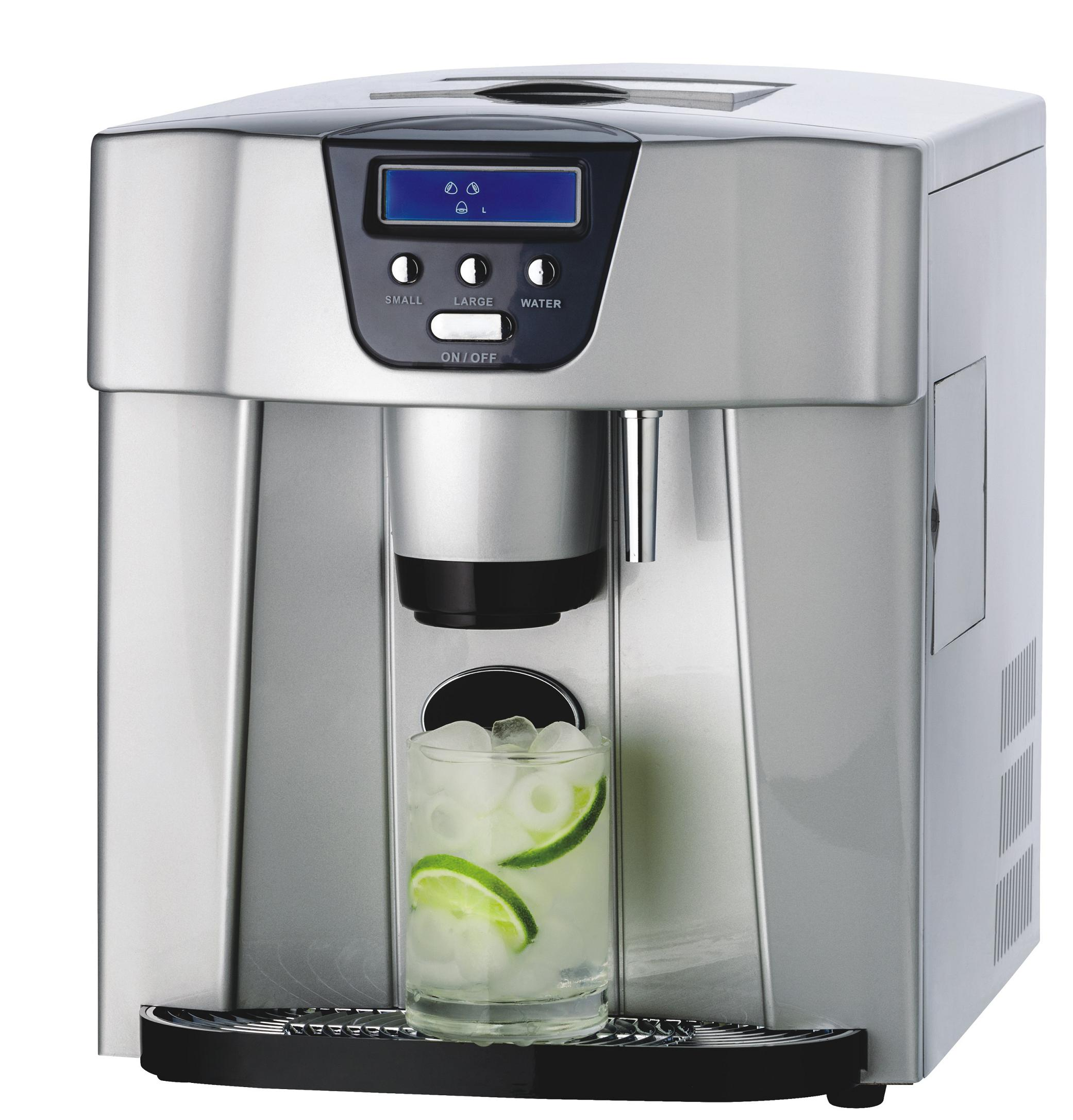 manufactory instant ice cube maker with water dispenser and automatical ice making machine