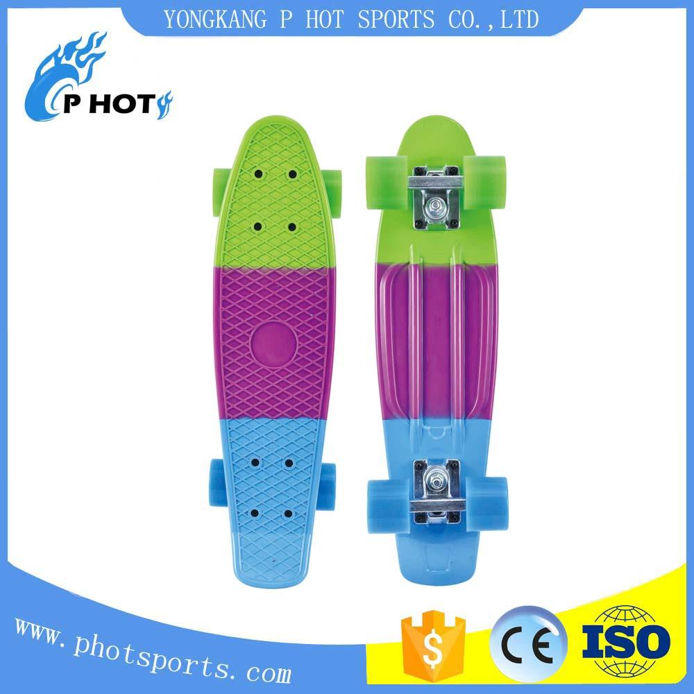 22 inch plastic PP fish board penny board skate board Factory skateboard