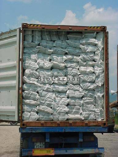 Shipment Charcoal by Sea Container