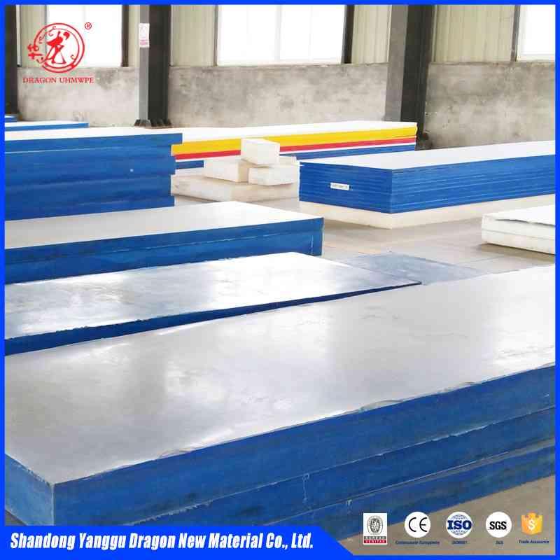 wear resistant uhmwpe hdpe sheet liner for bunker
