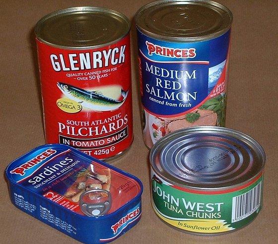 Canned Tuna ,Canned Sardine