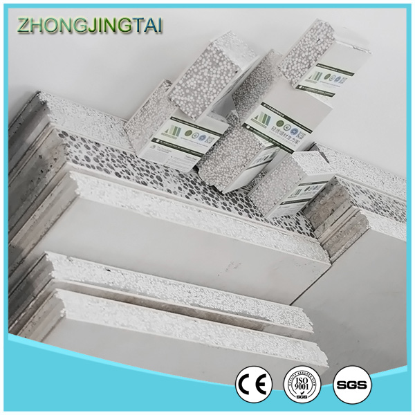 prefab eps cement sandwich wall panel for modual house
