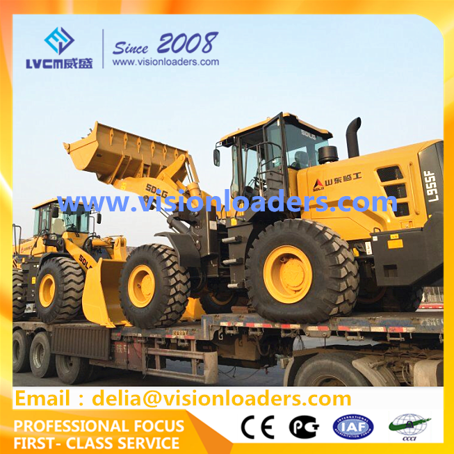 SDLG L955F Wheel loader L955 China loaders for sale