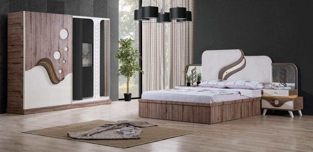 Unique Luxury 2017 New Design Cheap Bedroom Set