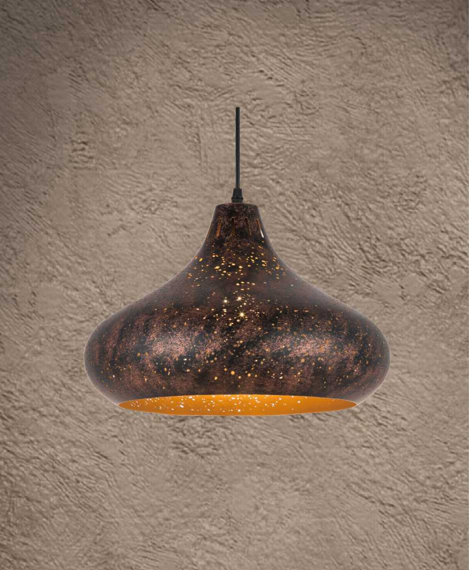 XV-08 corrosion pendant light