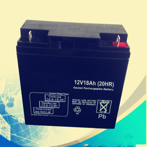 12V18AH Maintenance free sealed lead acid rechargeable battery