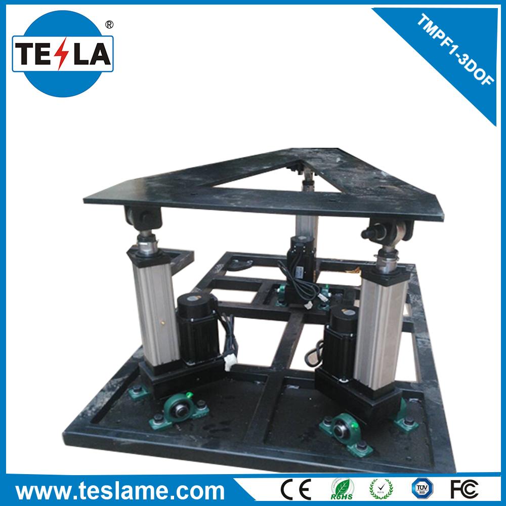 2017 factory offer AC90-220V 3dof motion platform small roller coaster for sale