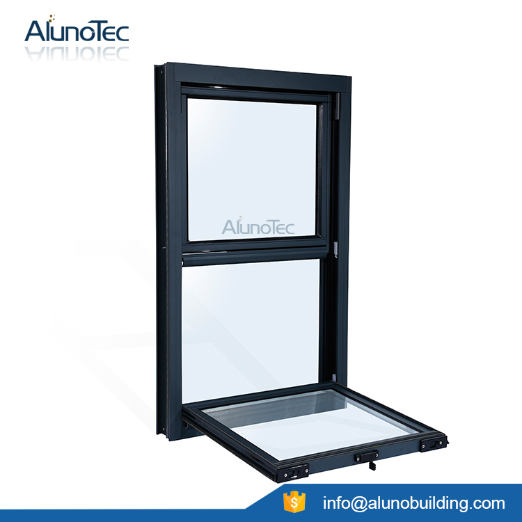 Single/Double Sash Window Vertical Side Hung Window System