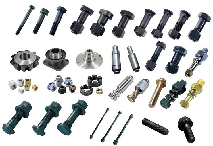 10.9 and 12.9 high tensile heavy truck hub bolt and nut