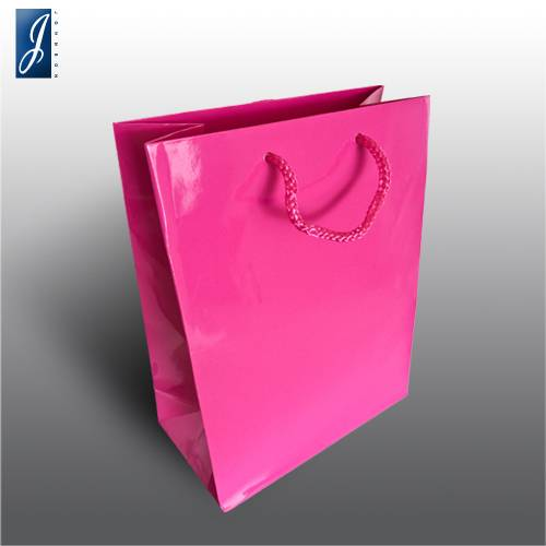 Currency small pink garment bag
