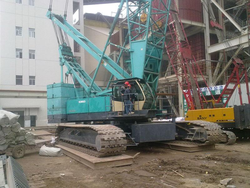 Japan original used crawler crane Kobelco 250 ton 50 150 ton 250 ton crawler crane for sale
